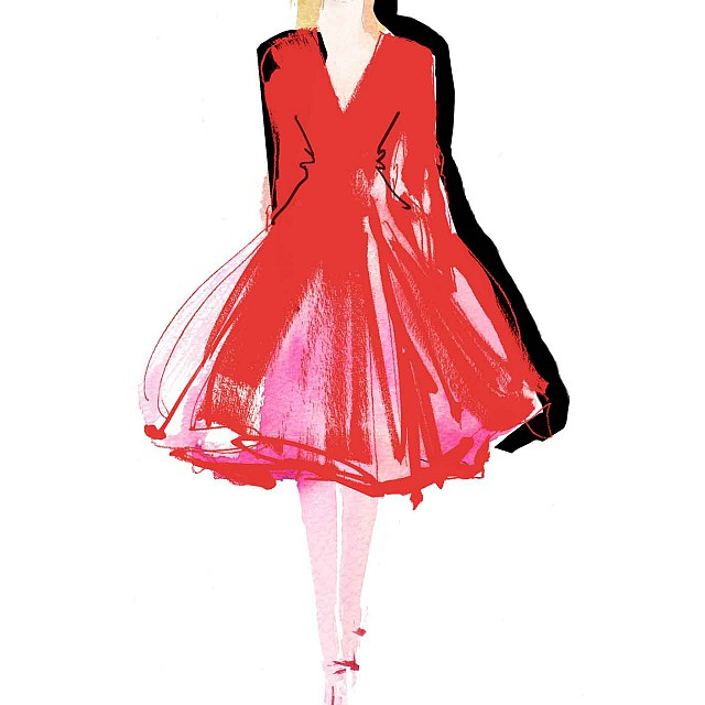 Prima Catwalk Red Dress